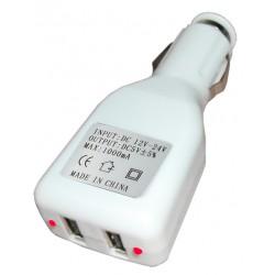 Alimentatore da auto doppia presa USB