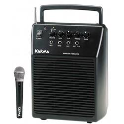Box amplificato con radiomicrofono