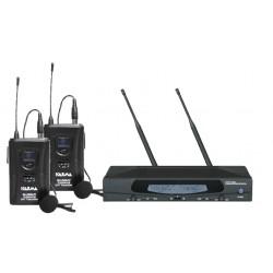 Doppio radiomicrofono UHF