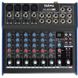 Mixer microfonico con DSP